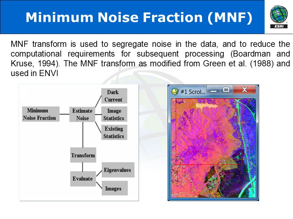Minimum Noise Fraction (MNF)