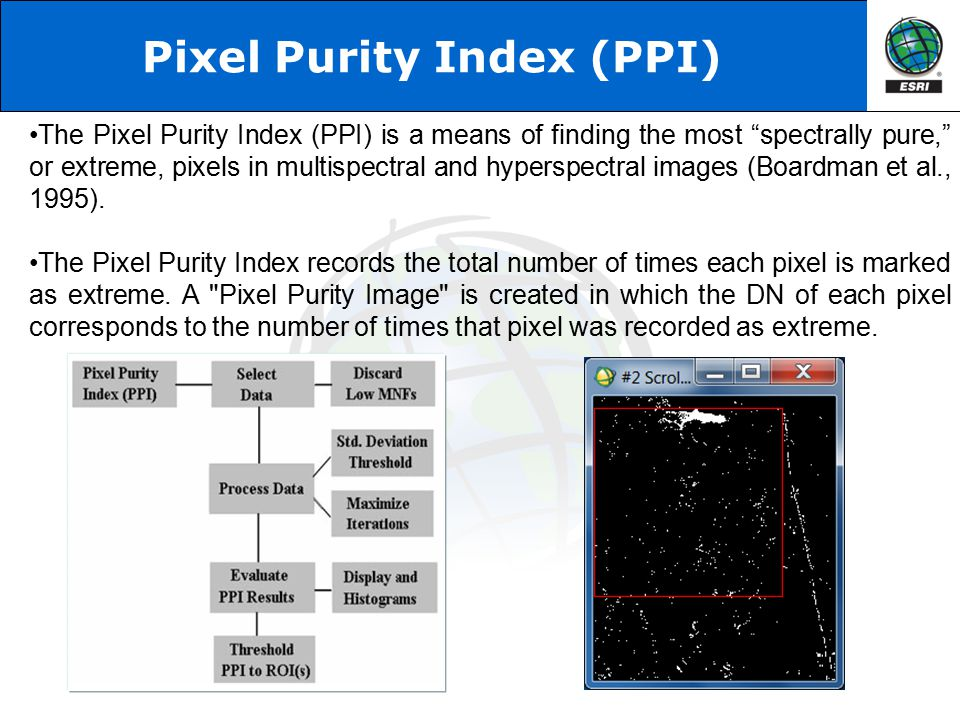 Pixel Purity Index (PPI)
