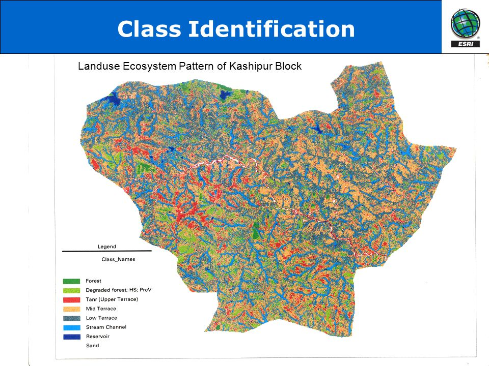 Landuse Ecosystem Pattern of Kashipur Block