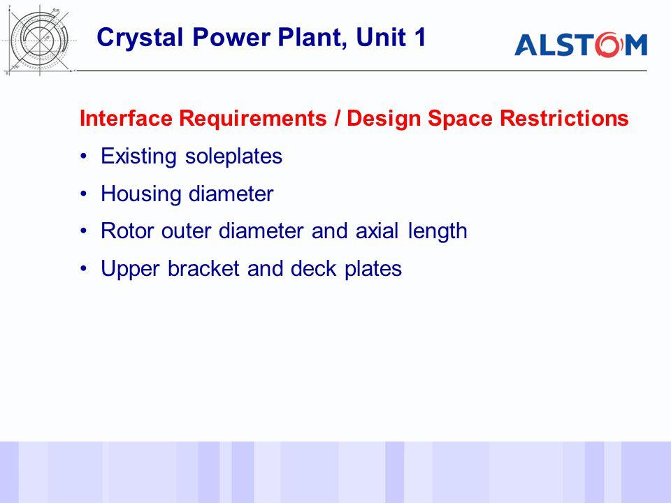 Crystal Power Plant, Unit 1