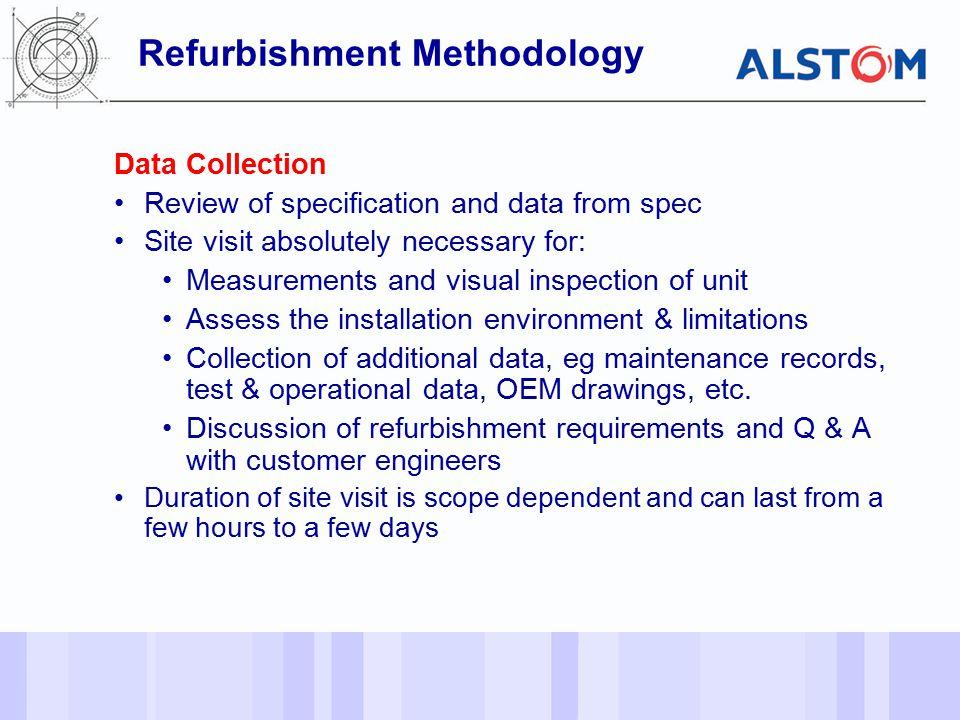 Refurbishment Methodology