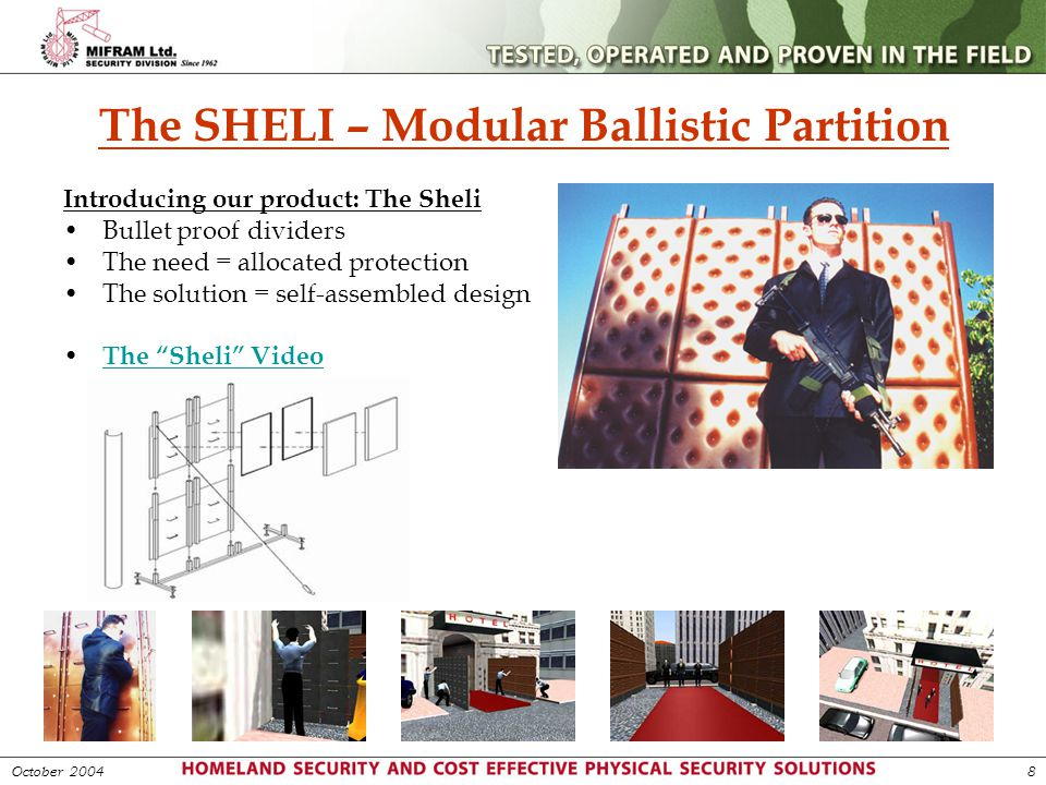 The SHELI – Modular Ballistic Partition