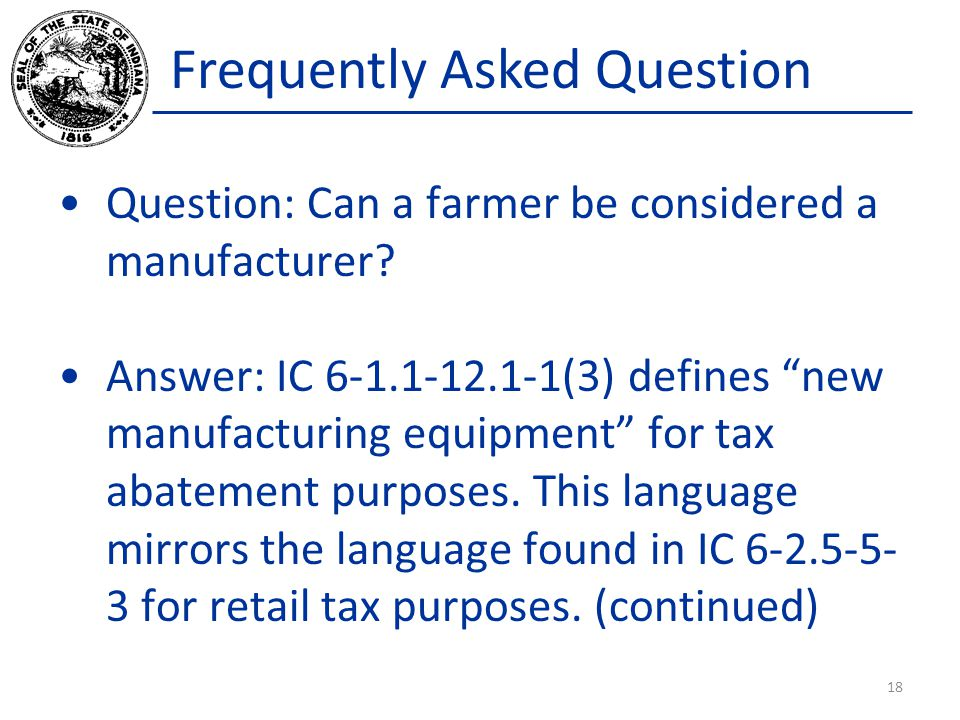 Frequently Asked Question