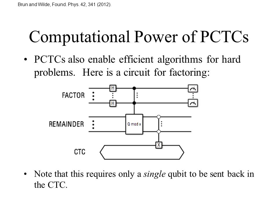 Computational Power of PCTCs
