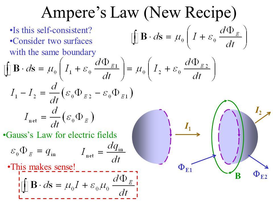 Ampere's Law (New Recipe)