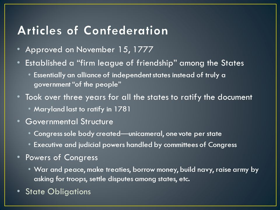 articles of confederation flaws However, there were many inherent weaknesses with the articles of confederation: the national government did not have the power to tax congress did not have the power to force states to obey its laws congress could not enforce laws each state could issue its own paper money any state could put.