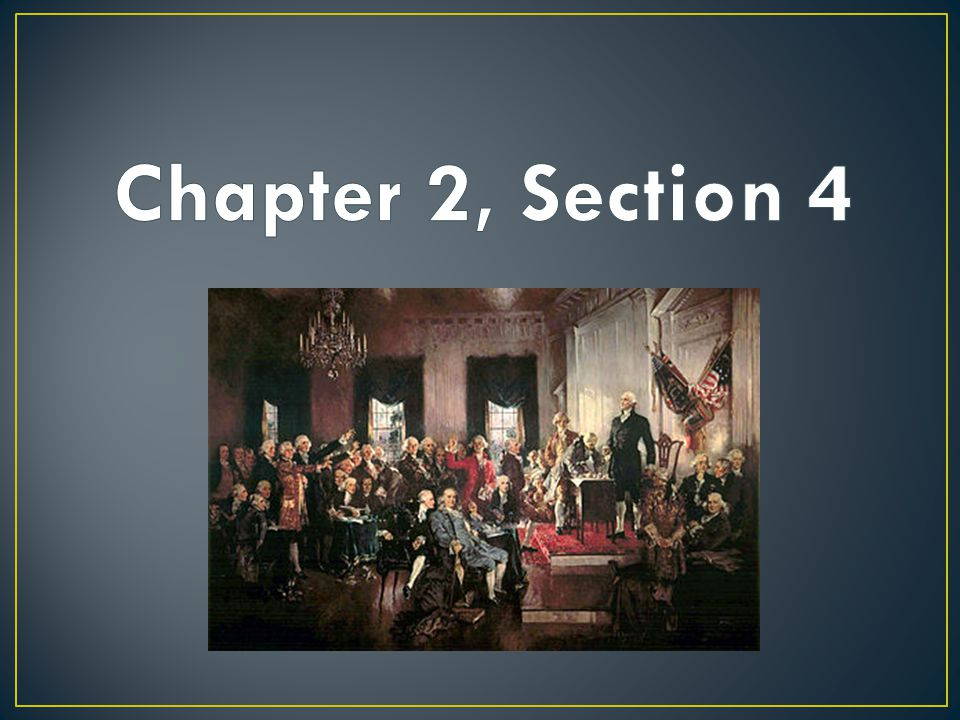 Chapter 2, Section 4