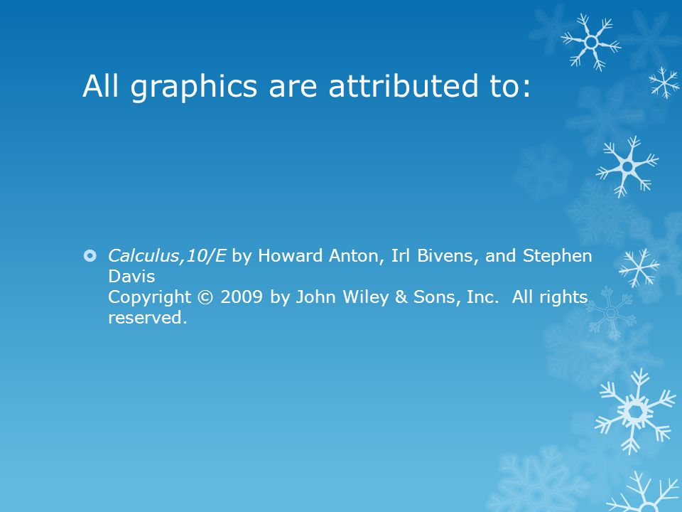 All graphics are attributed to: