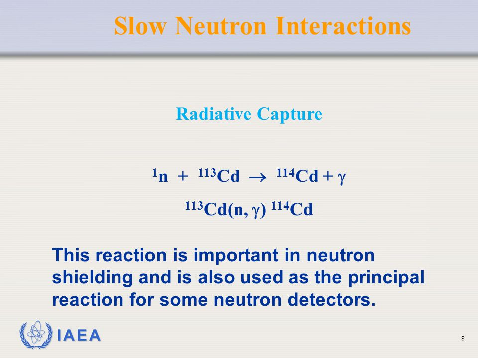 Slow Neutron Interactions