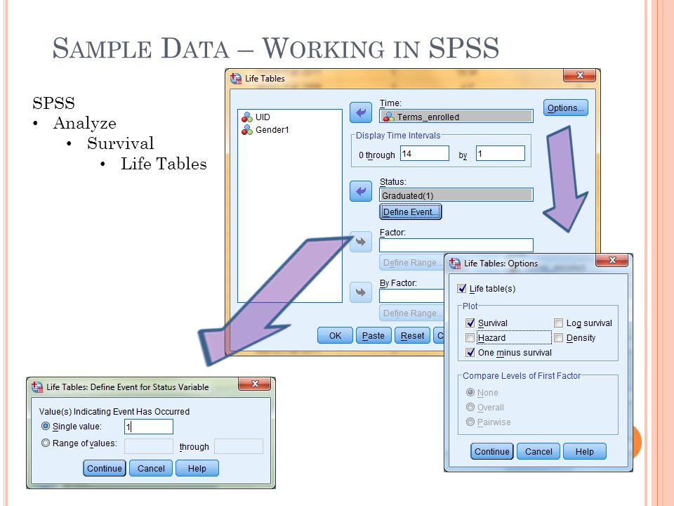 Sample Data – Working in SPSS