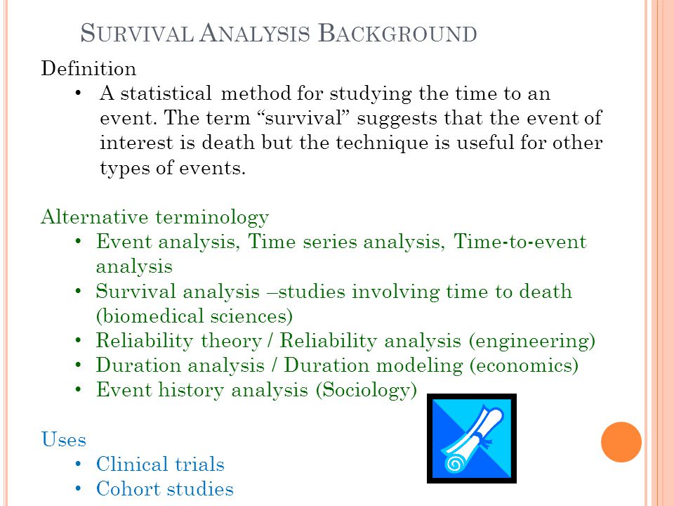 Survival Analysis Background