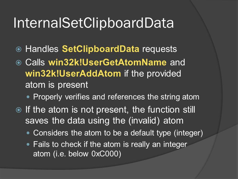 InternalSetClipboardData