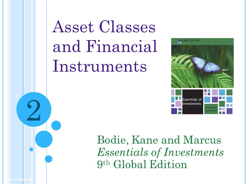 2 Asset Classes and Financial Instruments Bodie, Kane and Marcus
