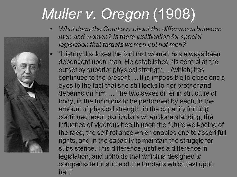 Muller v. Oregon (1908)