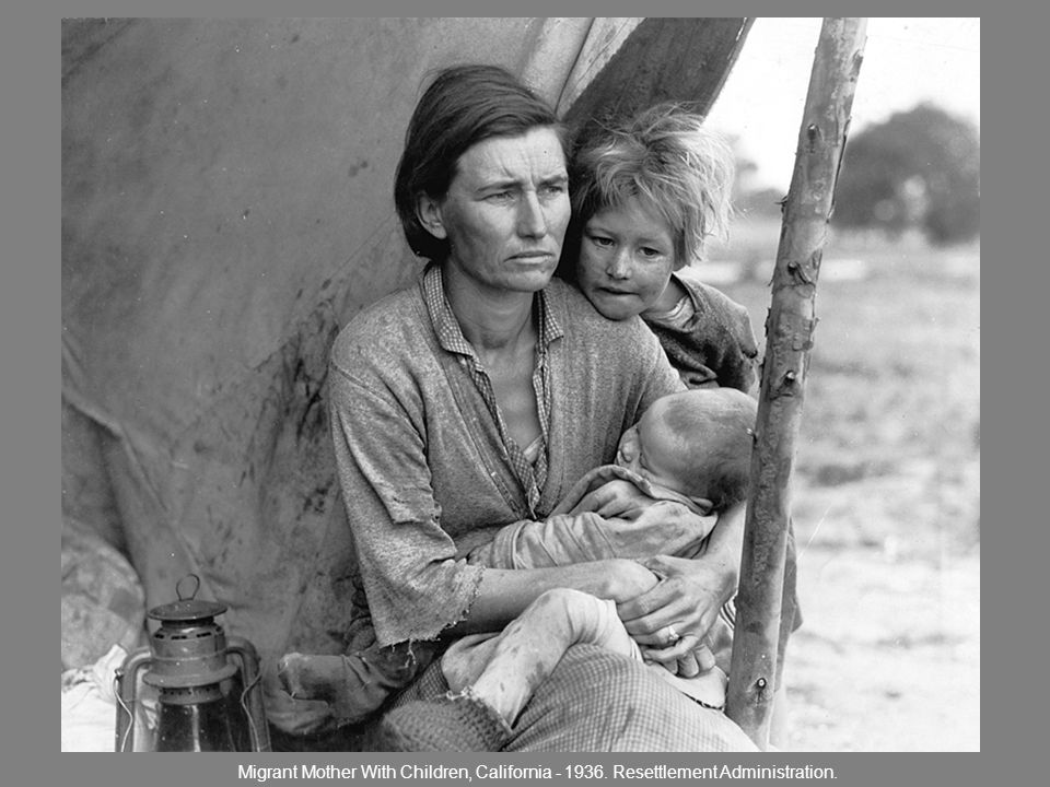 Migrant Mother With Children, California - 1936