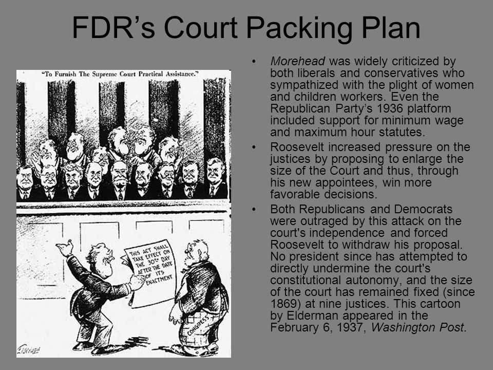 FDR's Court Packing Plan