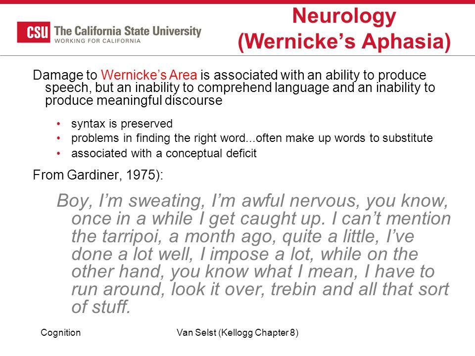 Neurology (Wernicke's Aphasia)