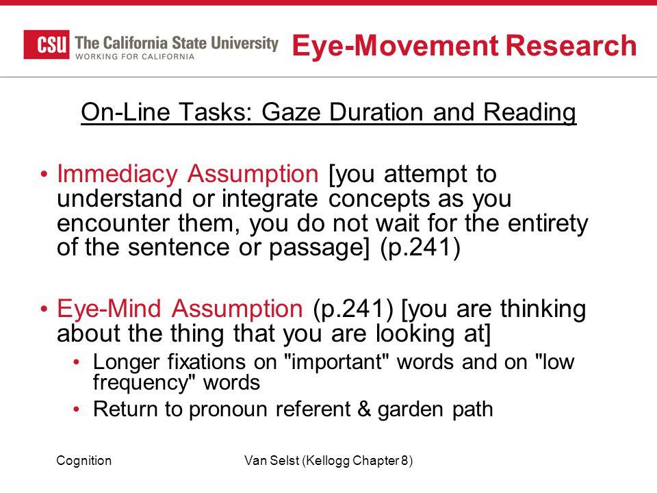 Eye-Movement Research