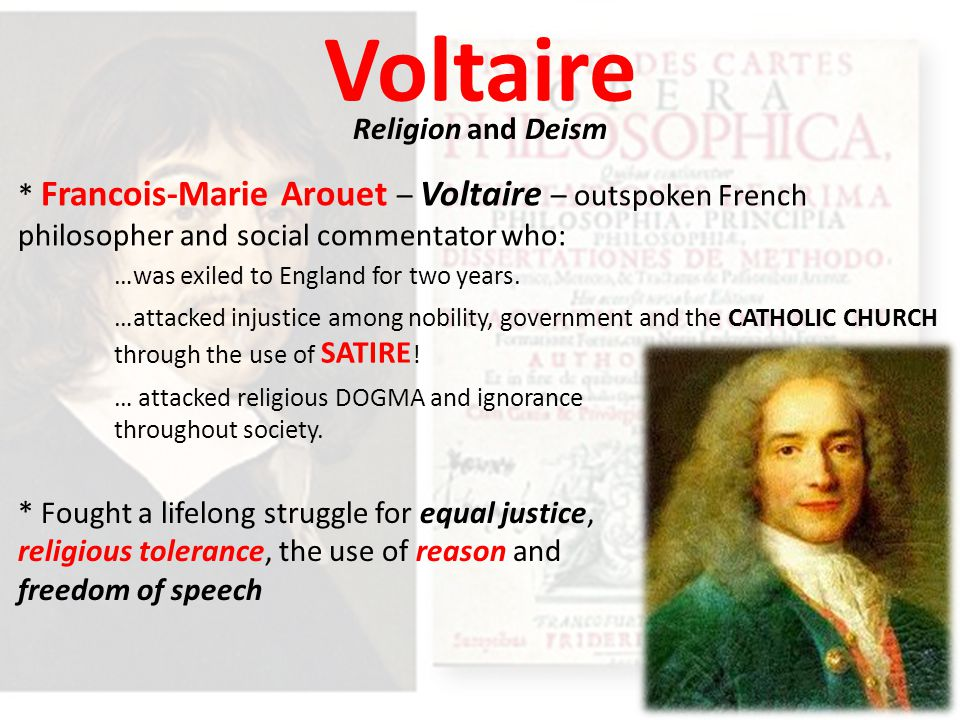 Voltaire Religion and Deism