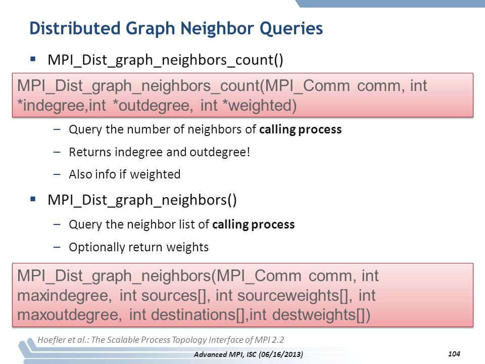 Distributed Graph Neighbor Queries
