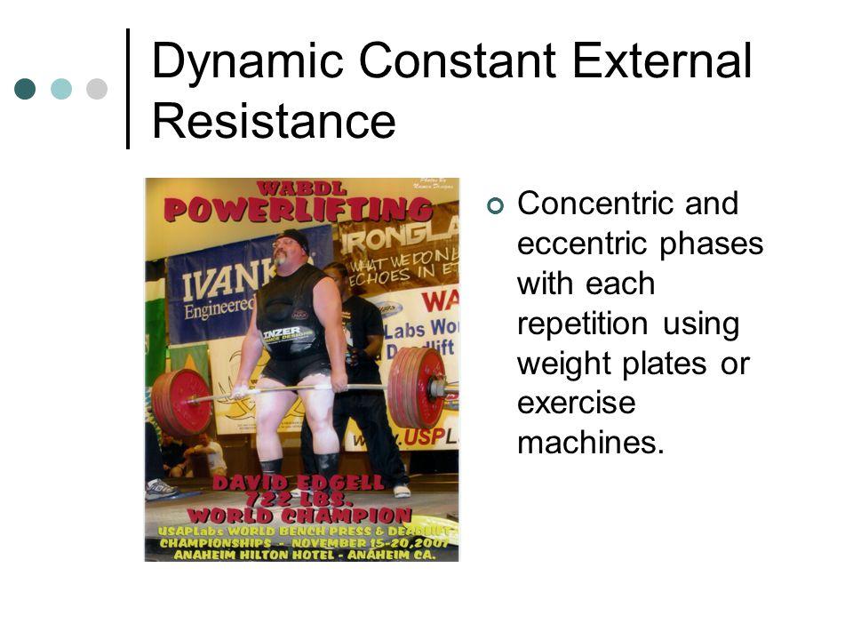 Dynamic Constant External Resistance