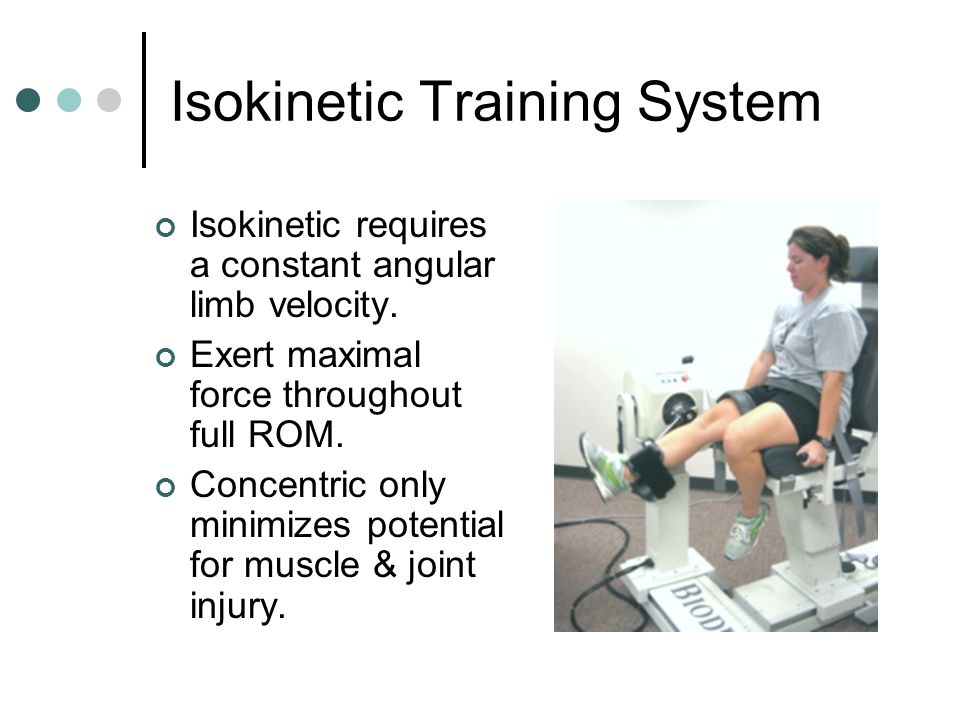 Isokinetic Training System