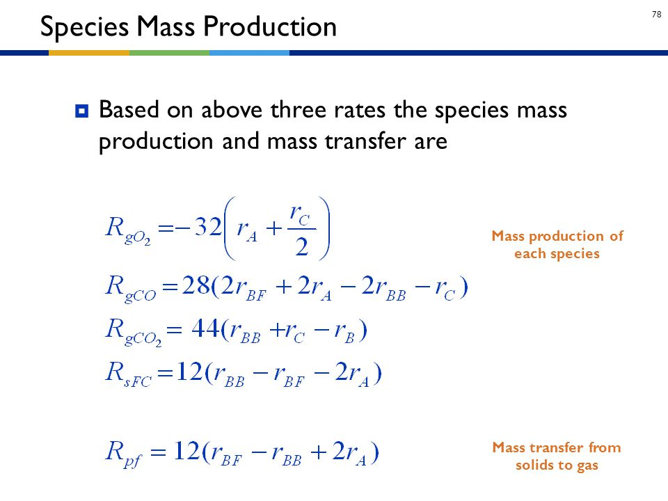 Species Mass Production