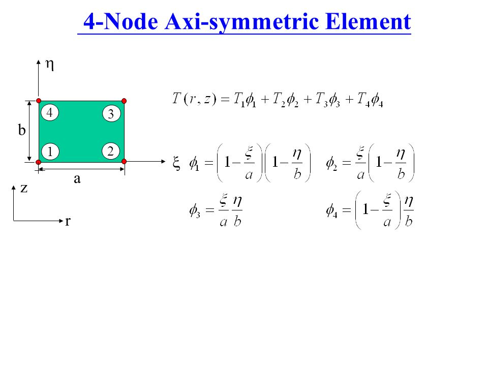 4-Node Axi-symmetric Element