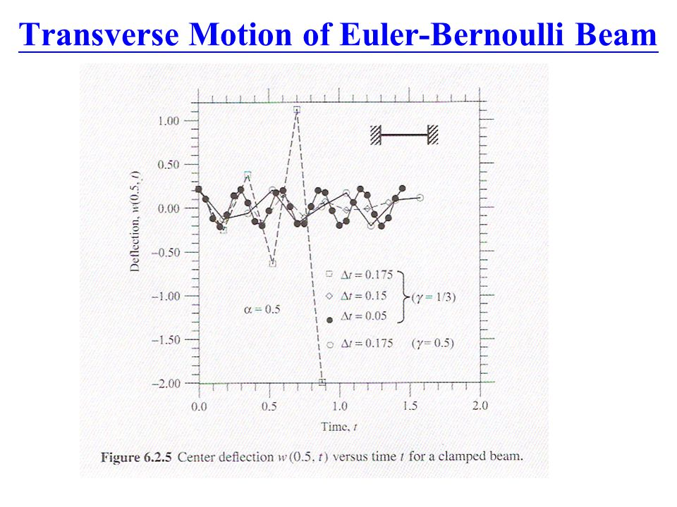 Transverse Motion of Euler-Bernoulli Beam