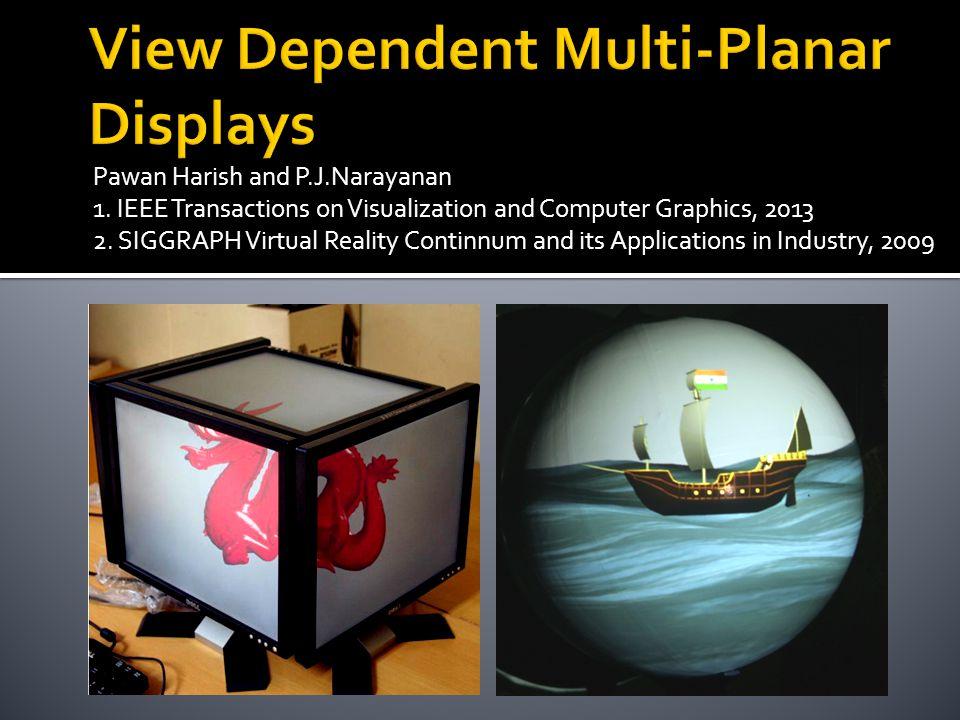 View Dependent Multi-Planar Displays