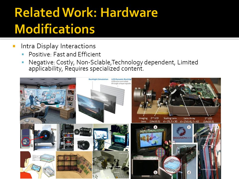 Related Work: Hardware Modifications