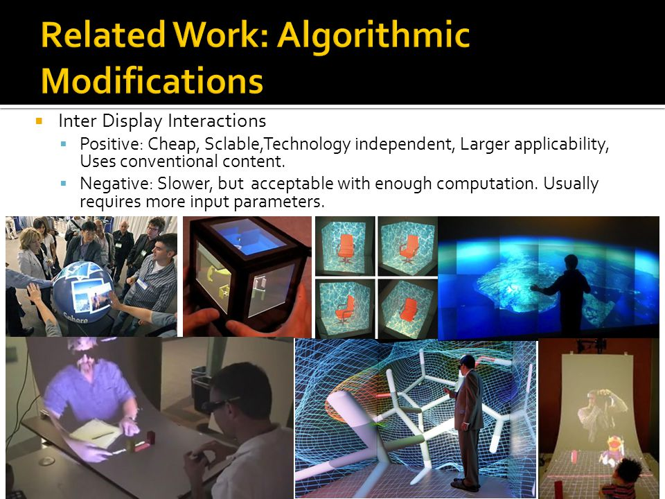 Related Work: Algorithmic Modifications