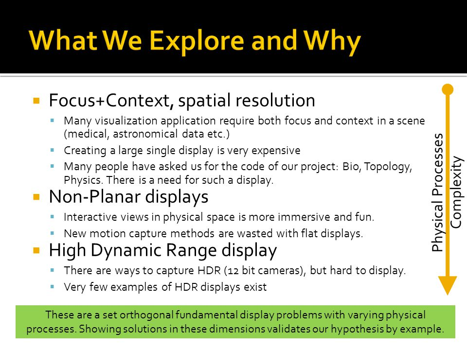 Physical Processes Complexity