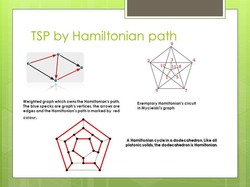 TSP by Hamiltonian path