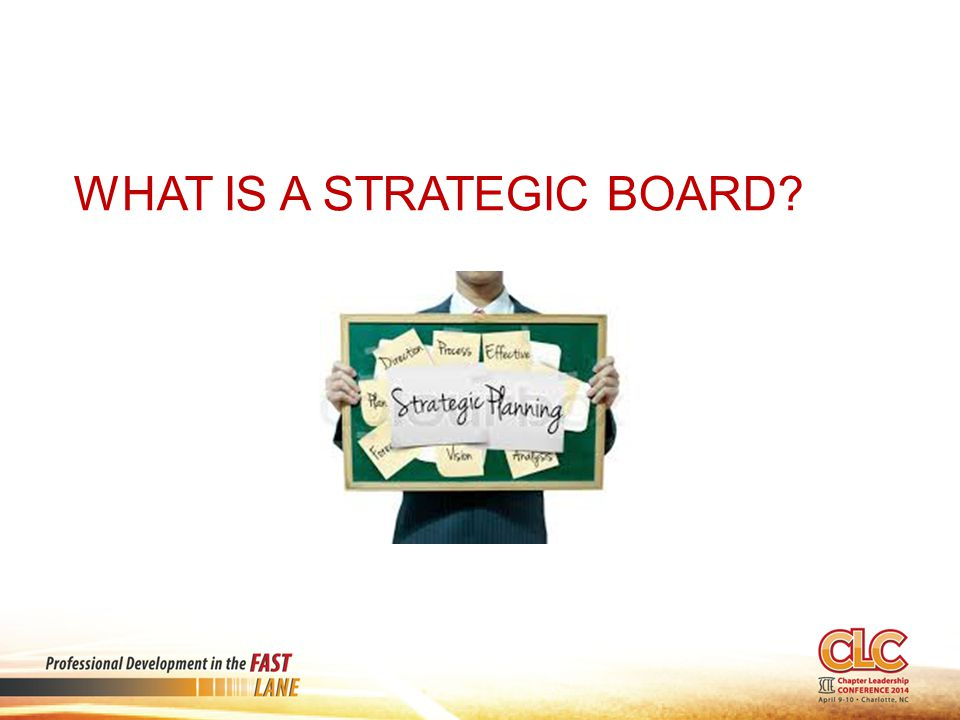 What is a Strategic Board