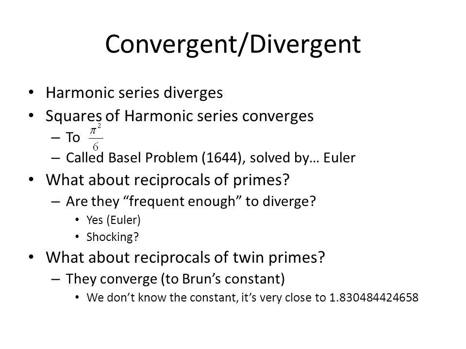Convergent/Divergent