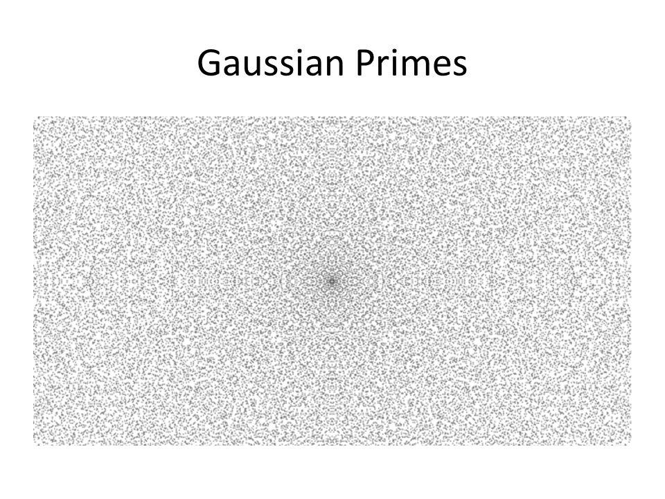 Gaussian Primes