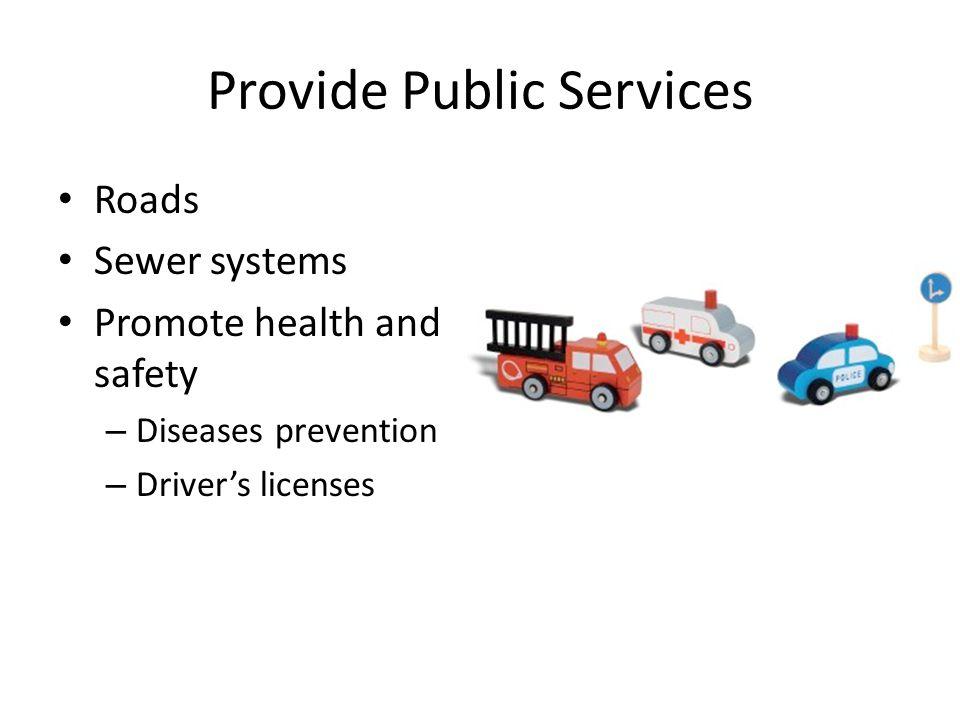 Provide Public Services