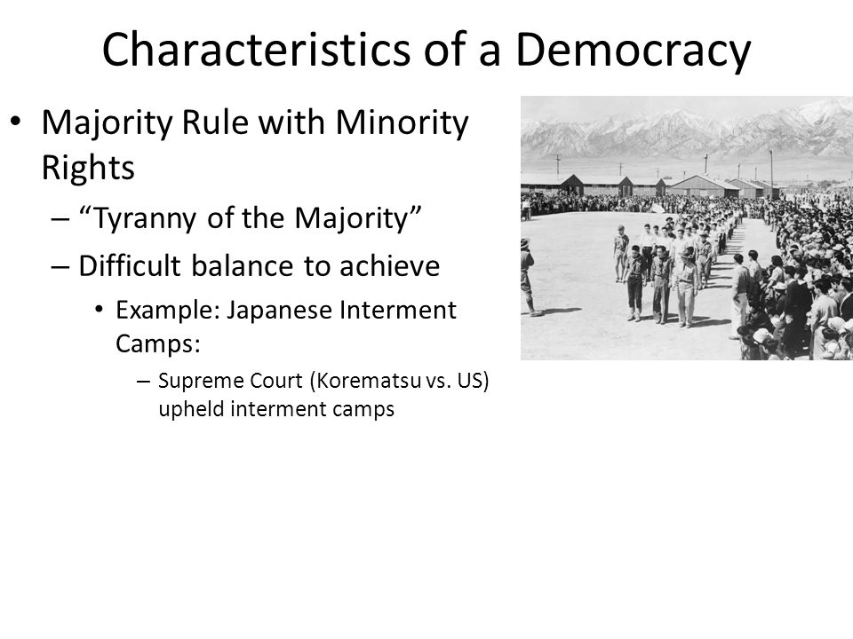 What Are the Six Characteristics of a Democracy?