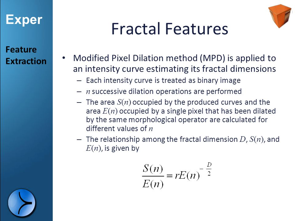 Fractal Features Feature Extraction