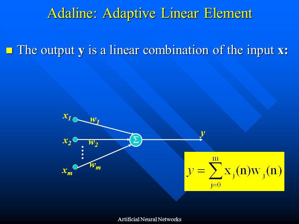 Adaline: Adaptive Linear Element