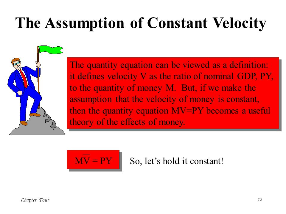 The Assumption of Constant Velocity