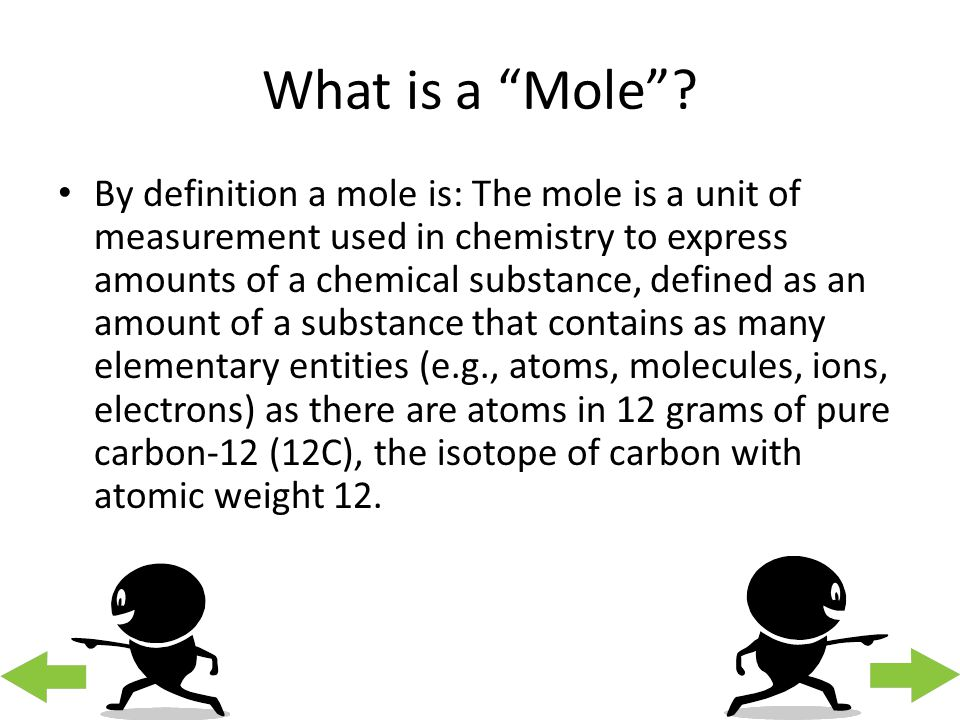 Chemistry Webquest Mark L. The Mole. - ppt download