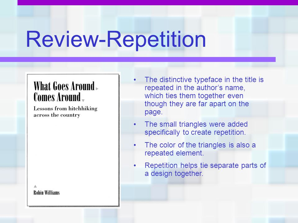 Review-Repetition