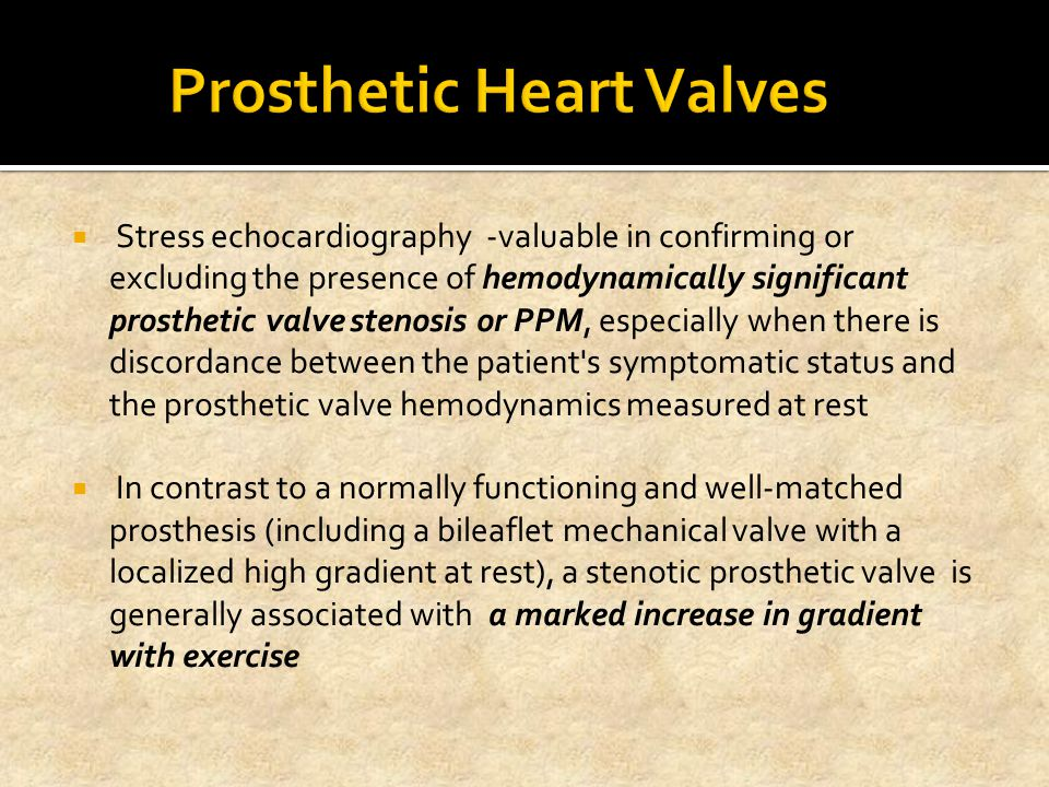 Prosthetic Heart Valves