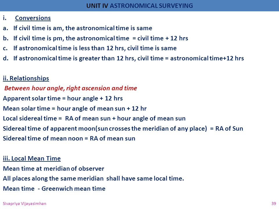 If civil time is am, the astronomical time is same