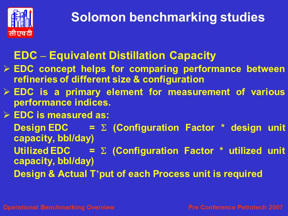 Solomon benchmarking studies