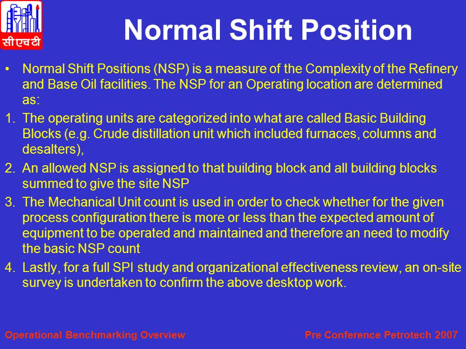 Normal Shift Position
