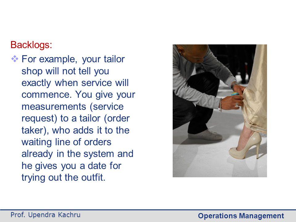 Scheduling Customer Demand