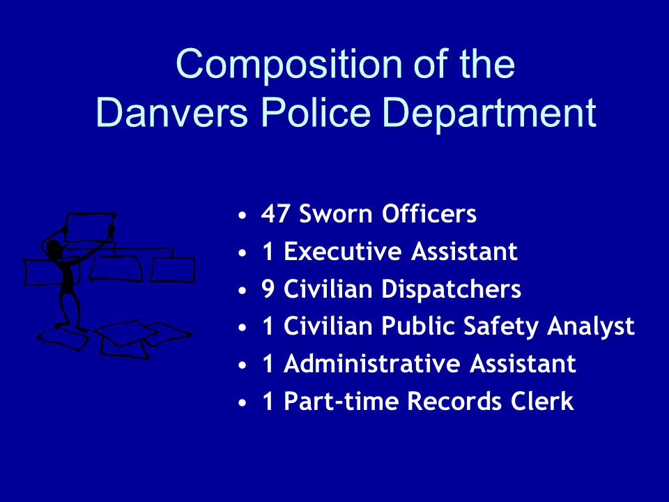 Composition of the Danvers Police Department